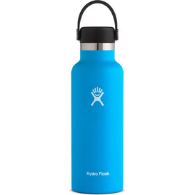 Hydro Flask Standard Mouth Drinkfles met standaard Flex Cap 532ml, pacific